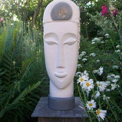 Ammonite Head