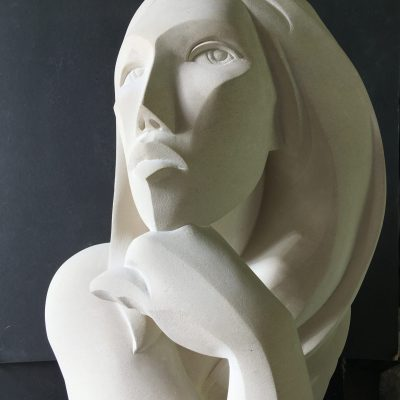 Penelope an abstract bust